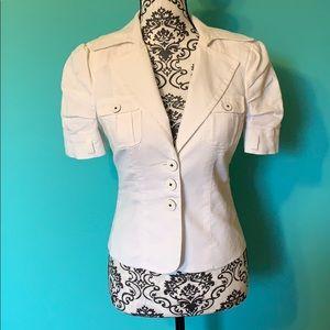 Bebe Fashion Professional Blazer Short Sleeve 3btn